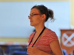 Ucastnicka.jpg - Letný žurnalistický seminár 2011
